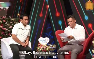 Chàng trai mang cả 'sớ' điều khoản tình yêu lên chương trình hẹn hò, khán giả tranh cãi không ngớt