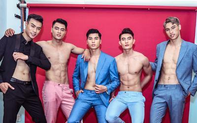 Top 5 Mister Vietnam 2019 vạch áo, khoe cơ bụng 6 múi, Hữu Đạt cover Hồng nhan 'siêu ngầu'