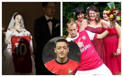 Mesut Ozil và những lần gây sốt vì fan 'gọi tên' trong lễ cưới