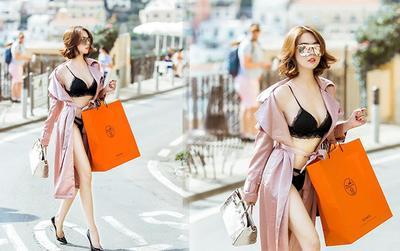 Ngọc Trinh lại gây shock khi mặc nội y đi shopping ở Châu Âu, người khen đẹp - kẻ chê phản cảm