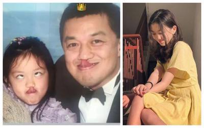 Con gái hở hàm ếch của Vương Phi gây xúc động khi đăng ảnh chúc mừng sinh nhật bố
