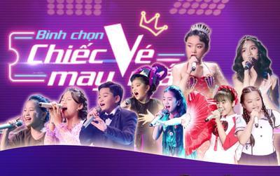 Khởi động bình chọn 'Chiếc vé may mắn' dành cho Top 9 Giọng hát Việt nhí 2019