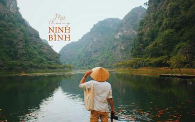 Chiêm ngưỡng mùa thu Ninh Bình lãng mạn với 'nghìn lẻ một' góc chụp tuyệt đẹp qua ống kính travel blogger nổi tiếng