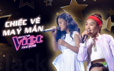 Thắng Chiếc vé may mắn, Khánh An - Bảo Hân vào Top 5, cùng tranh giải quán quân Giọng hát Việt nhí