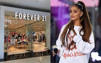 Chưa chừa với đơn kiện 10 triệu đô, Forever 21 tiếp tục 'mặt dày' bán áo in tên bài hát của Ariana Grande