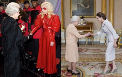 Siêu sao Hollywood mặc gì khi được diện kiến nữ hoàng Anh?