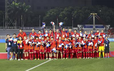 Đội tuyển bóng đá nữ Việt Nam được thưởng nóng khi đạt HCV SEA Games 30