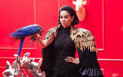 Thu Minh chính là 'trùm cuối' xuất hiện trong chung kết 'Miss University NHG 2020' tại ĐH Quốc Tế Hồng Bàng
