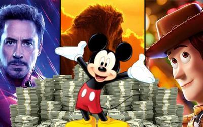 Một mình Disney gánh 80% doanh thu phòng vé trong năm 2019