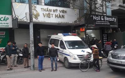 Người đàn ông tử vong khi hút mỡ bụng tại thẩm mỹ viện Việt Hàn là cán bộ công an tỉnh Vĩnh Phúc