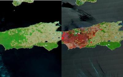Ảnh vệ tinh NASA tố cáo mức độ tàn phá khủng khiếp do cháy rừng ở Australia