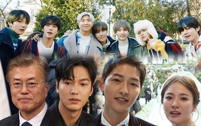 Top 20 đại diện Hàn Quốc trên toàn cầu: Tổng thống Moon Jae In và BTS đứng đầu, Lee Min Ho - Song Hye Kyo theo sau