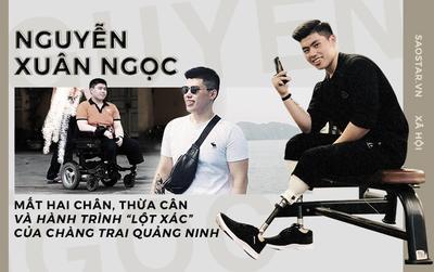 Hành trình 'lột xác' đáng khâm phục của chàng trai Quảng Ninh mất hai chân sau tai nạn tàu lửa