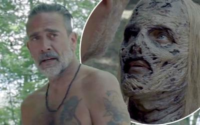 The Walking Dead mùa 10 gây sốc với cảnh nóng đốt mắt của Negan và Alpha