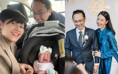 Đăng ảnh gia đình hạnh phúc, vợ chồng MC Phí Linh bất ngờ bị bạn bè 'bóc phốt'