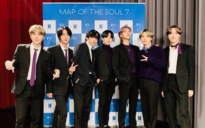 'Map Of The Soul: 7' của BTS leo top BXH album hàng tuầnvới doanh thu tuần đầu tiên cao nhất trong lịch sử Gaon