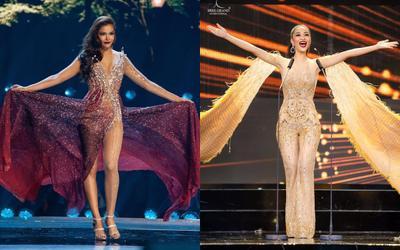 Từ jumpsuit của Kiều Loan nhìn sang kiểu váy '2 trong 1' ảo diệu ở Miss Universe, đại diện Việt chưa mặc một lần