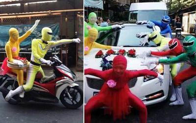 Dân tình thích thú trước đội hình bê tráp toàn 'siêu nhân Gao cực xịn'