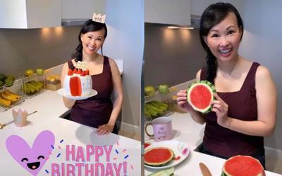 Shark Linh đón sinh nhật lần thứ 43 với chiếc bánh gato 'độc nhất vô nhị' và tổng kết sự thay đổi của bản thân