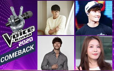 The Voice Korea 2020 tái xuất sau 7 năm, chính thức công bố dàn HLV ngồi ghế nóng