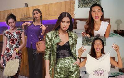 Minh Tú 'vung tiền' thuê cả villa ở Bali nhưng khổ sở thiếu áo váy, suýt phải quấn xà rông?