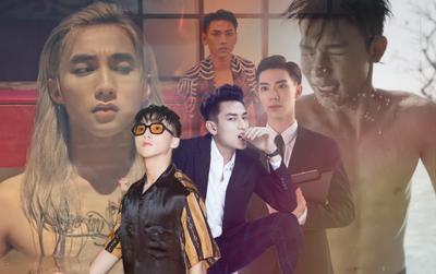 Sao nam Vpop 'lũ lượt' khoe body trong MV: Sơn Tùng M-TP, Erik, Isaac,… đâu mới là điểm 10 cực phẩm?