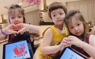 Con gái Elly Trần càng lớn càng xinh lại còn vô cùng ngọt ngào