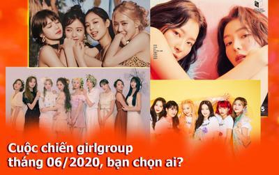 Cuộc chiến girlgroup tháng 06/2020 'nóng ngàn độ' với sự tham gia của loạt tên tuổi lớn: Bạn về phe TWICE, BLACKPINK hay bộ đôi Red Velvet?