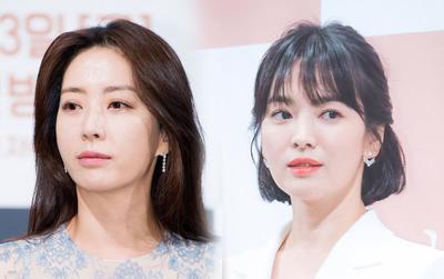 Khoe tình bạn 19 năm trên MXH, Song Hye Kyo và 'phu nhân K2' Song Yoon đứng top 1 Naver