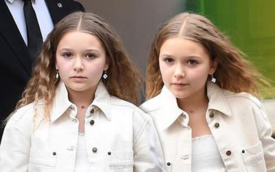 Hết lộ thân hình mũm mĩm, con gái David Beckham lại bị chê già chát với kiều tóc xoăn