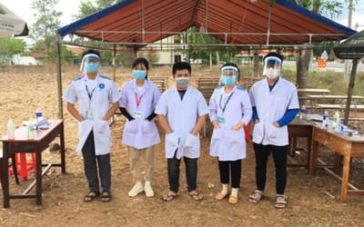 Hàng trăm sinh viên ngành Y ở Đăk Lăk tình nguyện tham gia chống dịch COVID- 19