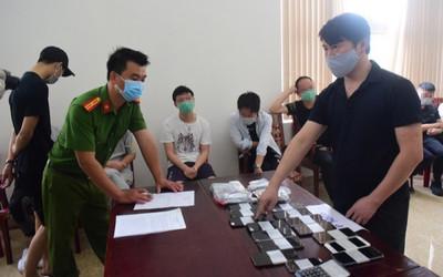 Phát hiện nhóm người Trung Quốc thuê khách sạn, tổ chức đánh bạc qua mạng hàng chục tỷ đồng