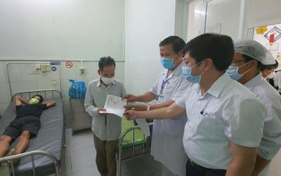 70 bệnh nhân không mắc COVID- 19 của bệnh viện Đà Nẵng được xuất viện