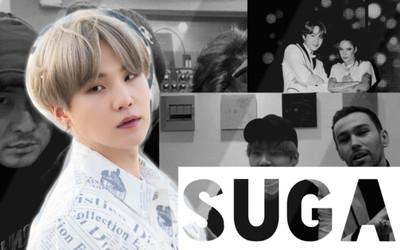 9 lần hợp tác của Suga (BTS) cùng các nghệ sĩ hàng đầu, cho ra đời loạt hit 'bá đạo'