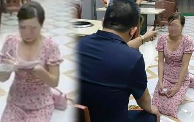 Công an xác minh chủ quán bắt cô gái quỳ lạy vì chê quán ăn không vệ sinh