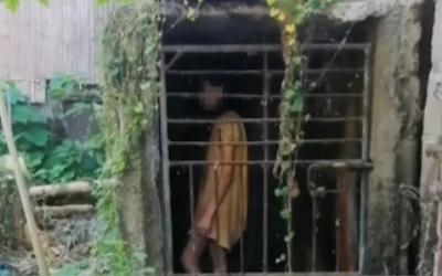 Người phụ nữ bệnh tâm thần bị hàng xóm nhốt trong chuồng suốt 25 năm