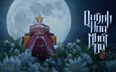 Thanh Hằng hóa Thái hậu Dương Vân Nga trong dự án phim 'Quỳnh hoa nhất dạ' tự tay sản xuất
