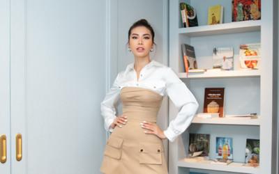 Minh Tú xinh đẹp ngọt ngào, làm giám khảo casting người mẫu