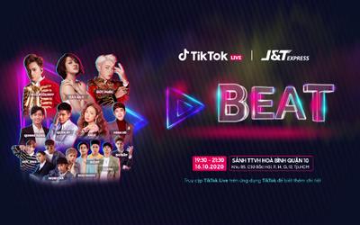 Hơn 100 Hot Tik Toker hội tụ trong đại hội âm nhạc Tik Tok BEAT Livestage lớn nhất Việt Nam