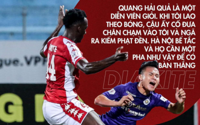 'Ở V-League, cầu thủ Hà Nội FC được trọng tài bảo vệ quá mức'