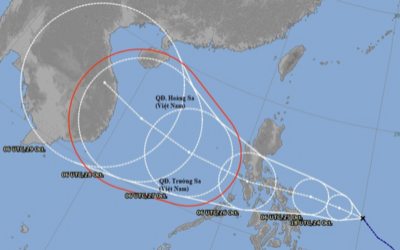 Bão số 8 chưa tan, Biển Đông lại sắp đón thêm một cơn bão mạnh