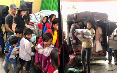 Chung tay cùng nghệ sĩ Quyền Linh, Hoa Hậu Khánh Vân kêu gọi cộng đồng tham gia gây quỹ hỗ trợ trẻ em miền Trung