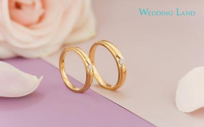 Mua nhẫn cưới kim cương tự nhiên Wedding Land giá chỉ từ 6 triệu đồng