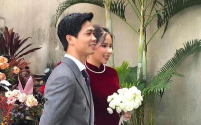 Cận cảnh nhan sắc xinh đẹp của Viên Minh trong ngày cưới Công Phượng
