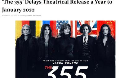 Bom tấn hành động 'THE 355' của Phạm Băng Băng chính thức dời lịch chiếu sang năm 2022