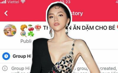 Group anti-fan chục nghìn thành viên của Hương Giang bất ngờ đổi tên thành 'Thực đơn ăn dặm cho bé'
