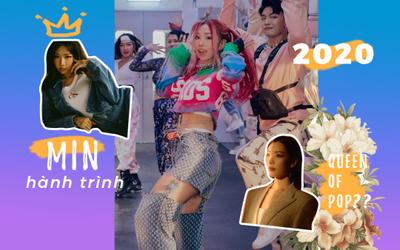 Bỏ qua ồn ào 'Queen of Pop', MIN đã có một năm thành công về âm nhạc