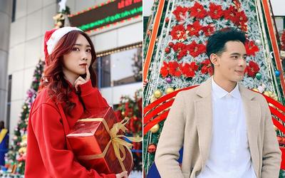 Dàn trai xinh gái đẹp 'trường NEU' háo nức check-in tiểu cảnh Noel