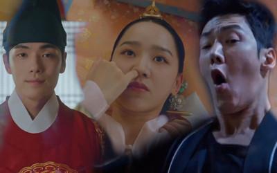 'Mr Queen': Choi Jin Hyuk khóc thét vì xuyên không về cổ đại làm vương hậu, cưới vua