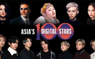 5 ngôi sao Thái Lan nằm trong danh sách 100 người có sức ảnh hưởng nhất trên mạng xã hội trong năm 2020